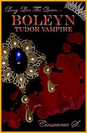 Picture of Cover of Boleyn Tudor Vampire Novel